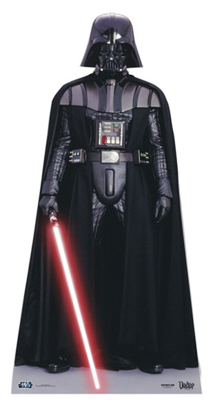 Darth Vader Star Wars Cardboard Cutout