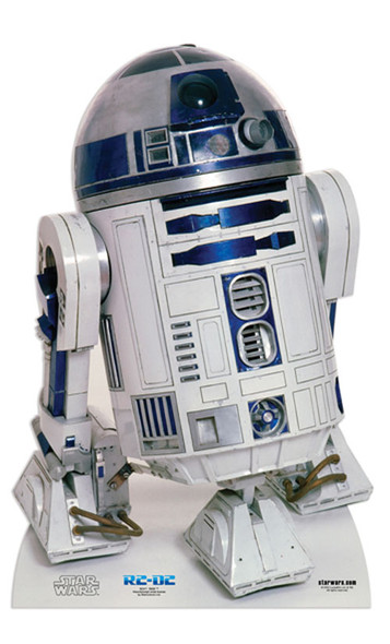 R2-D2 Star Wars Cardboard Cutout