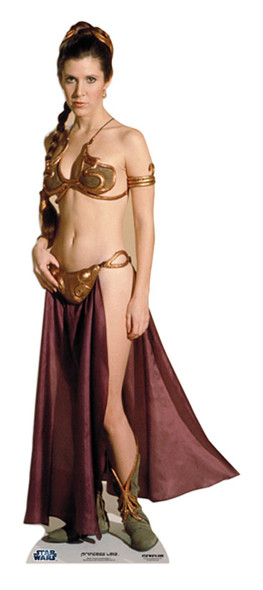 Princess Leia Star Wars Cardboard Cutout