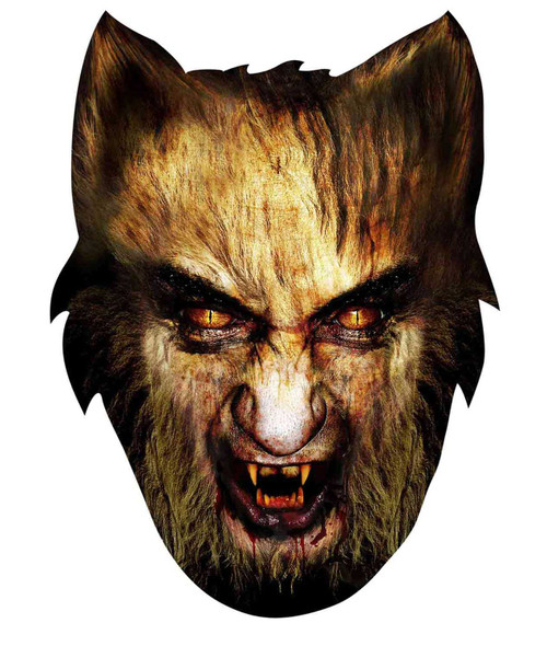Werewolf Halloween Face Mask