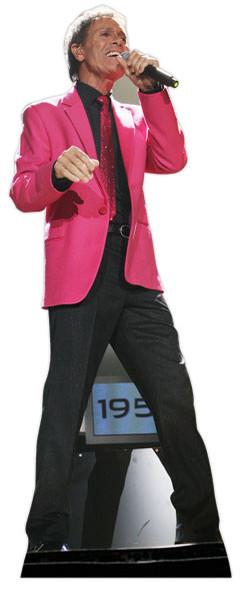 Cliff Richard 50th Anniversary Tour Lifesize Cardboard Cutout / Standee