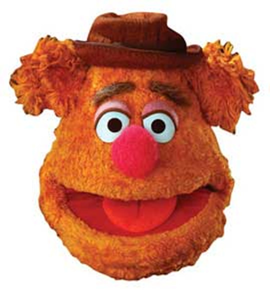 Fozzie Bear Face Mask