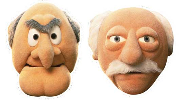 Statler and Waldor Face Mask Set