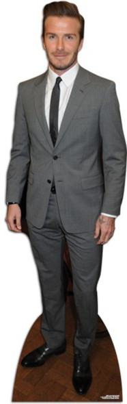 David Beckham - Suit Style Cardboard Cutout