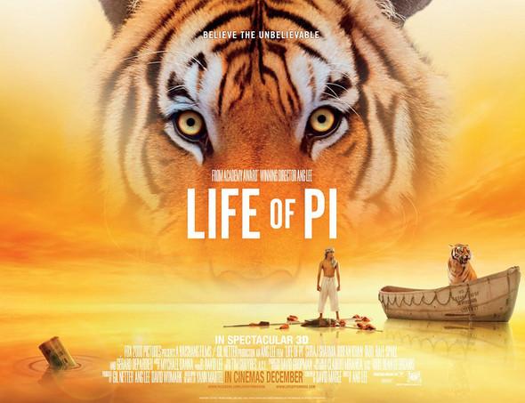 LIFE OF PI Poster (Quad)