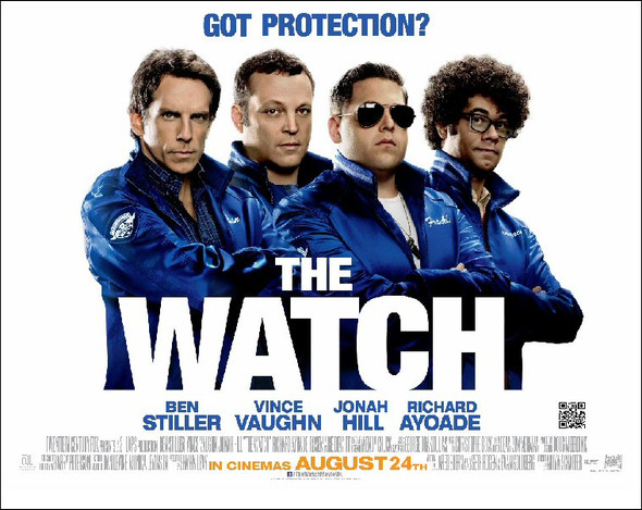 THE WATCH Poster (Quad)