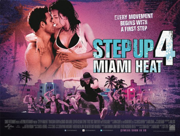 STEP UP 4: MIAMI HEAT Poster (Quad)