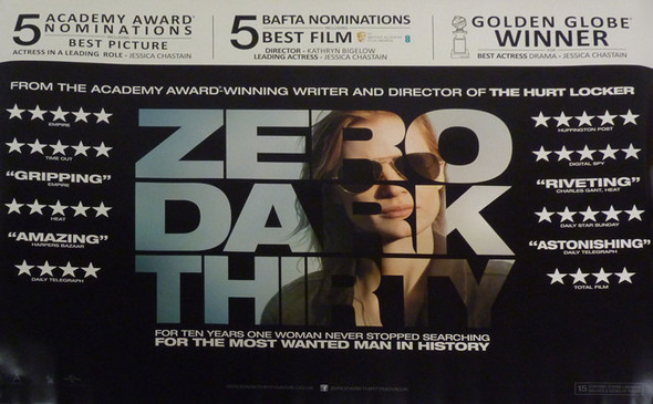 ZERO DARK THIRTY Poster Awards Style (Quad)