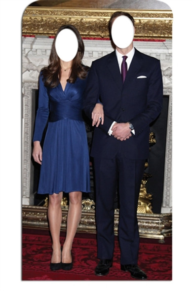 Prince William and Kate Stand-in