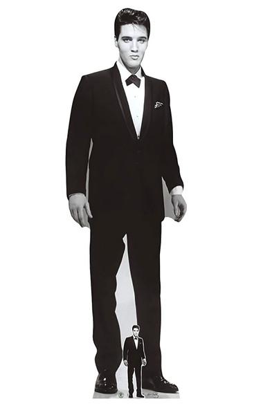 Elvis wearing tuxedo lifesize cardboard cutout