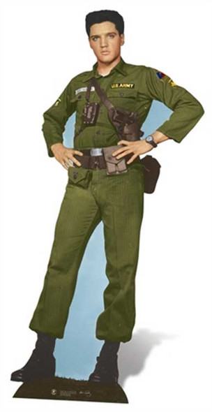 Elvis Army Days cutout