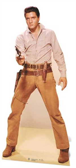 Elvis Gunfighter cutout
