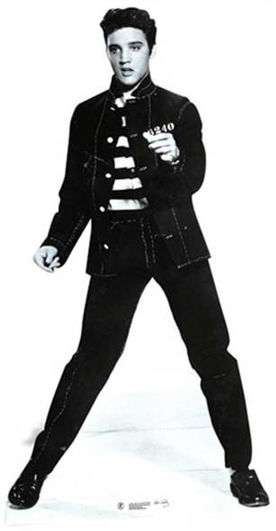 Elvis Jailhouse Rock cutout