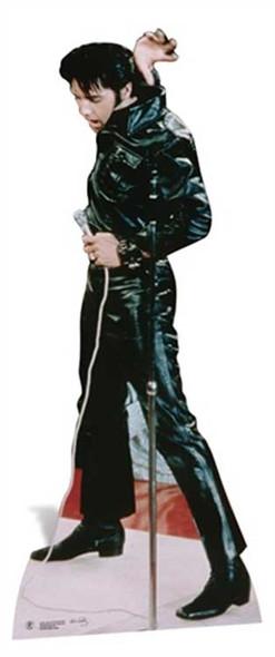 Elvis Wearing Black Leather cutout