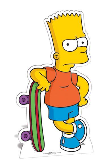 Bart Simpson cutout