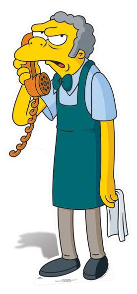 Moe The Bartender cutout