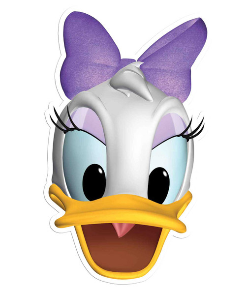 Daisy Duck Face Mask