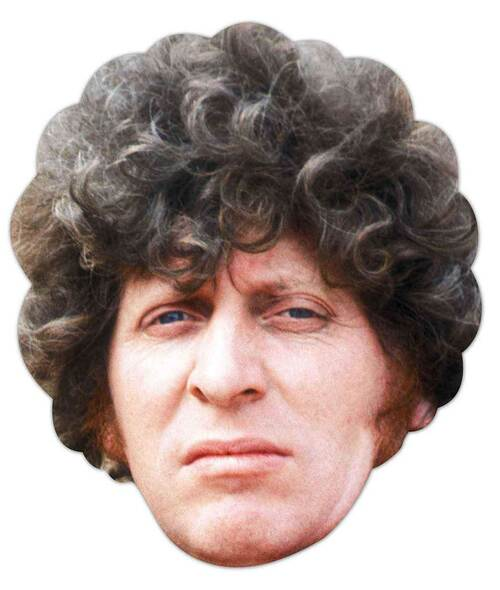 Tom Baker Doctor Who Face Mask (The Fourth Doctor)