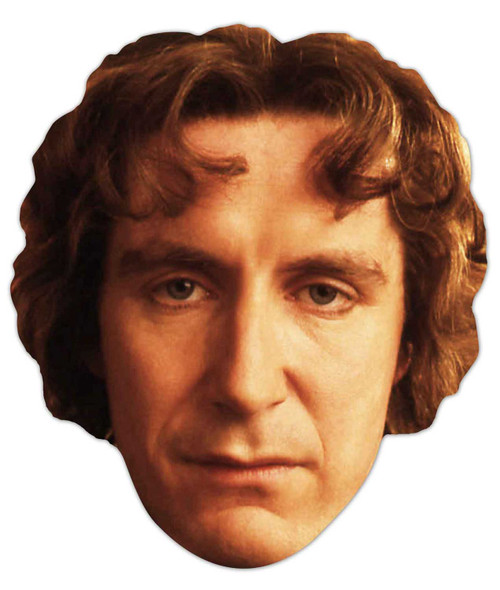 Paul McGann Doctor Who Face Mask (The Eigth Doctor)