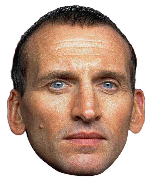 Christopher Eccleston Doctor Who Face Mask (The Ninth Doctor)