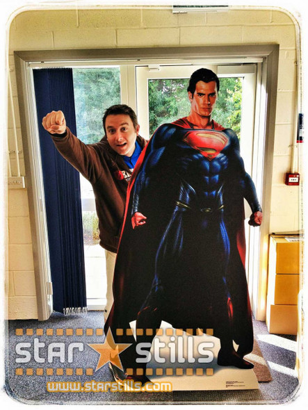 Man Of Steel In the Starstills office!