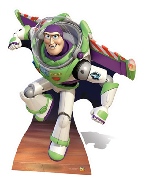 Buzz Lightyear Wings Extended Style Cardboard Cutout