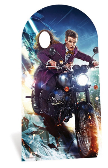 The Doctor and Clara Oswald Doctor Who Lifesize Cardboard Cutout Stand-in