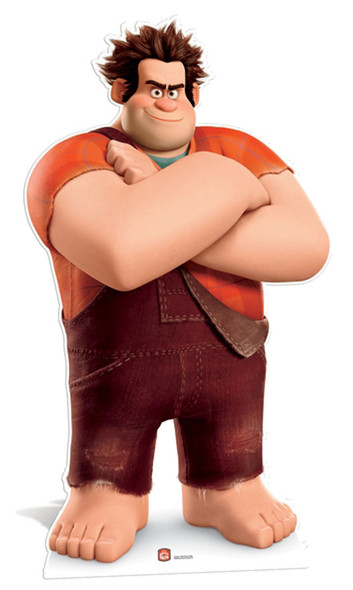 Wreck-it Ralph Cardboard Cutout