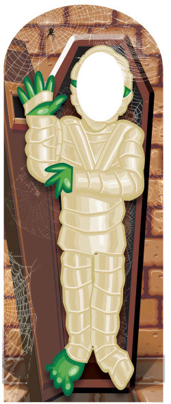 Mummy / Zombie Halloween Stand-in Cardboard Cutout