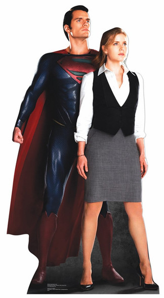 Superman and Lois Lane Cardboard Cutout