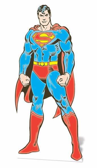 Superman Classic DC Comics Style Cardboard Cutout