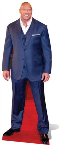 Dwayne Johnson Cardboard Cutout