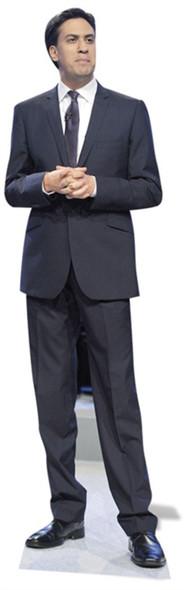 Ed Miliband Cardboard Cutout