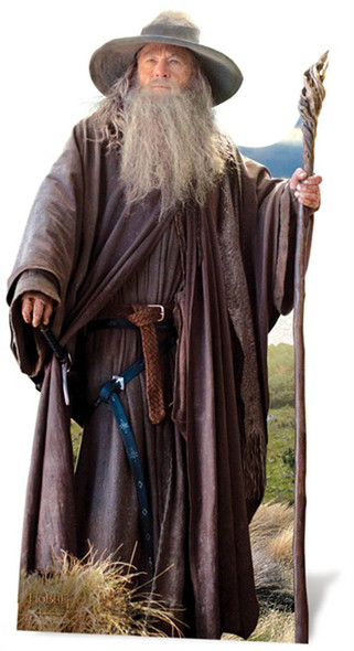 Gandalf From The Hobbit Lifesize Cardboard Cutout