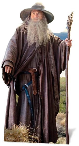 Gandalf From The Hobbit Lifesize Cardboard Cutout