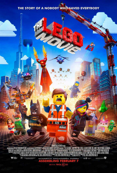The Lego Movie Original Movie Poster