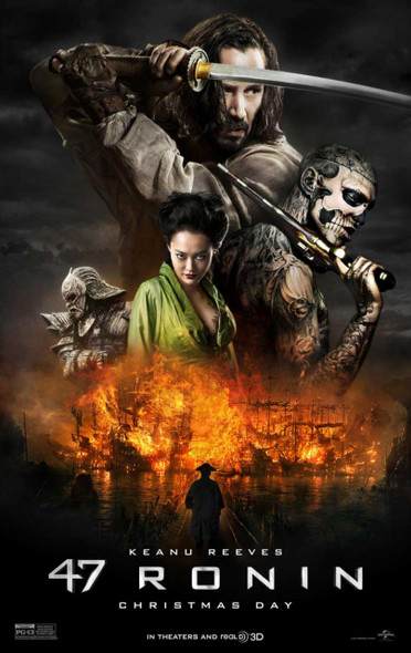 47 Ronin Original Movie Poster