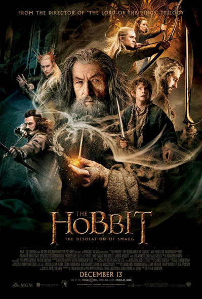 The Hobbit The Desolation of Smaug Original Movie Poster