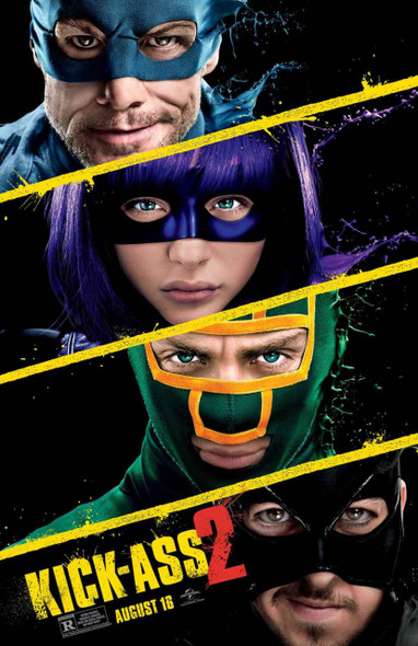 Kick-Ass 2 Original Movie Poster