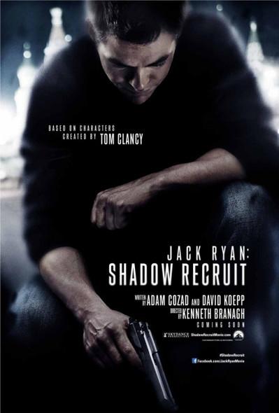 Jack Ryan: Shadow Recruit Original Movie Poster