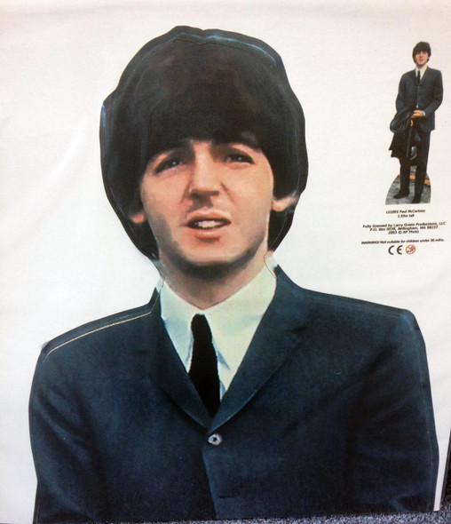 Paul McCartney Cutout Close Up