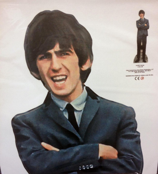 George Harrison Cutout Close Up