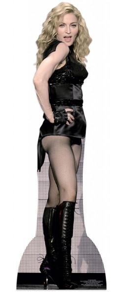 Madonna Lifesize Cardboard Cutout