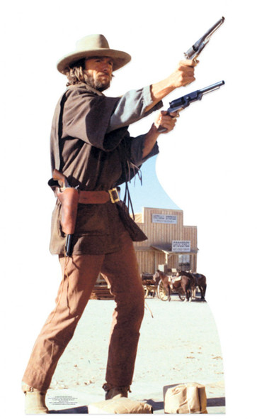 Clint Eastwood as The Outlaw Josie Wales Cardboard Cutout