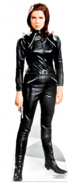 Diana Rigg as Emma Peel from The Avengers Lifesize Cardboard Cutout