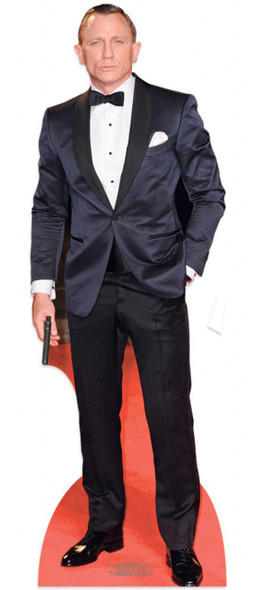 Daniel Craig as James Bond Lifesize Cardboard Cutout