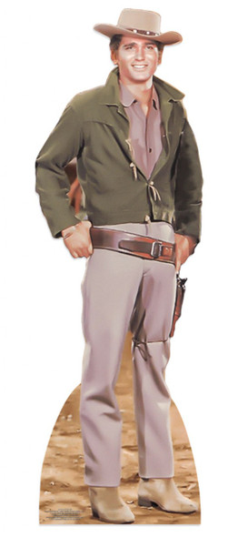 Michael Landon as Little Joe from Bonanza Lifesize Cardboard Cutout