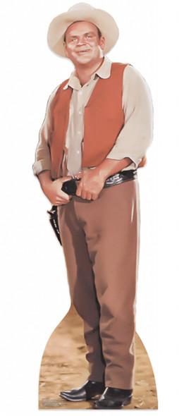 Dan Blocker as Hoss Cartwright from Bonanza Lifesize Cardboard Cutout