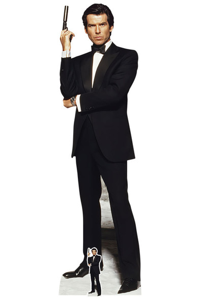 Pierce Brosnan as James Bond Lifesize Cardboard Cutout