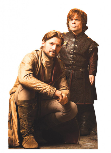 Kit Harington and Nikolaj Coster-Waldau Lifesize Cardboard Cutout